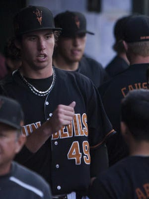 Ryan Kellogg, two-time All Pac-12 pitcher, is back for his junior season at ASU.