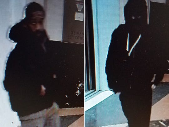 Indianapolis Metropolitan Police Department robbery detectives are looking for two suspects after they attempted to rob a pharmacy on Indianapolis's north west side.