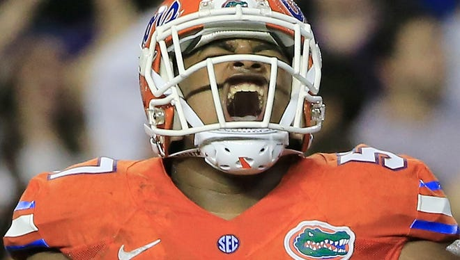Caleb Brantley has been expected to be a top-round pick in this week's NFL draft.