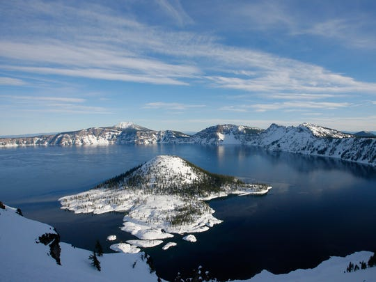 Officials at Crater Lake are warning visitors to leave