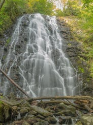 """""""Crabtree Falls is located at milepost 339.5 south"""