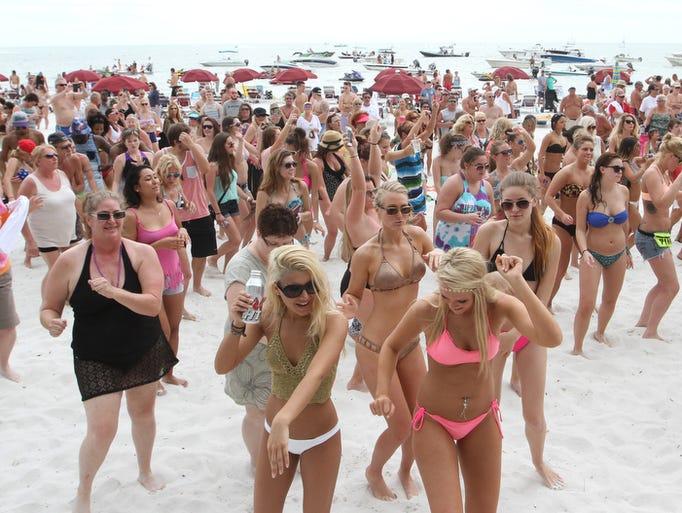 Daytona Beach Spring Break  Schedule