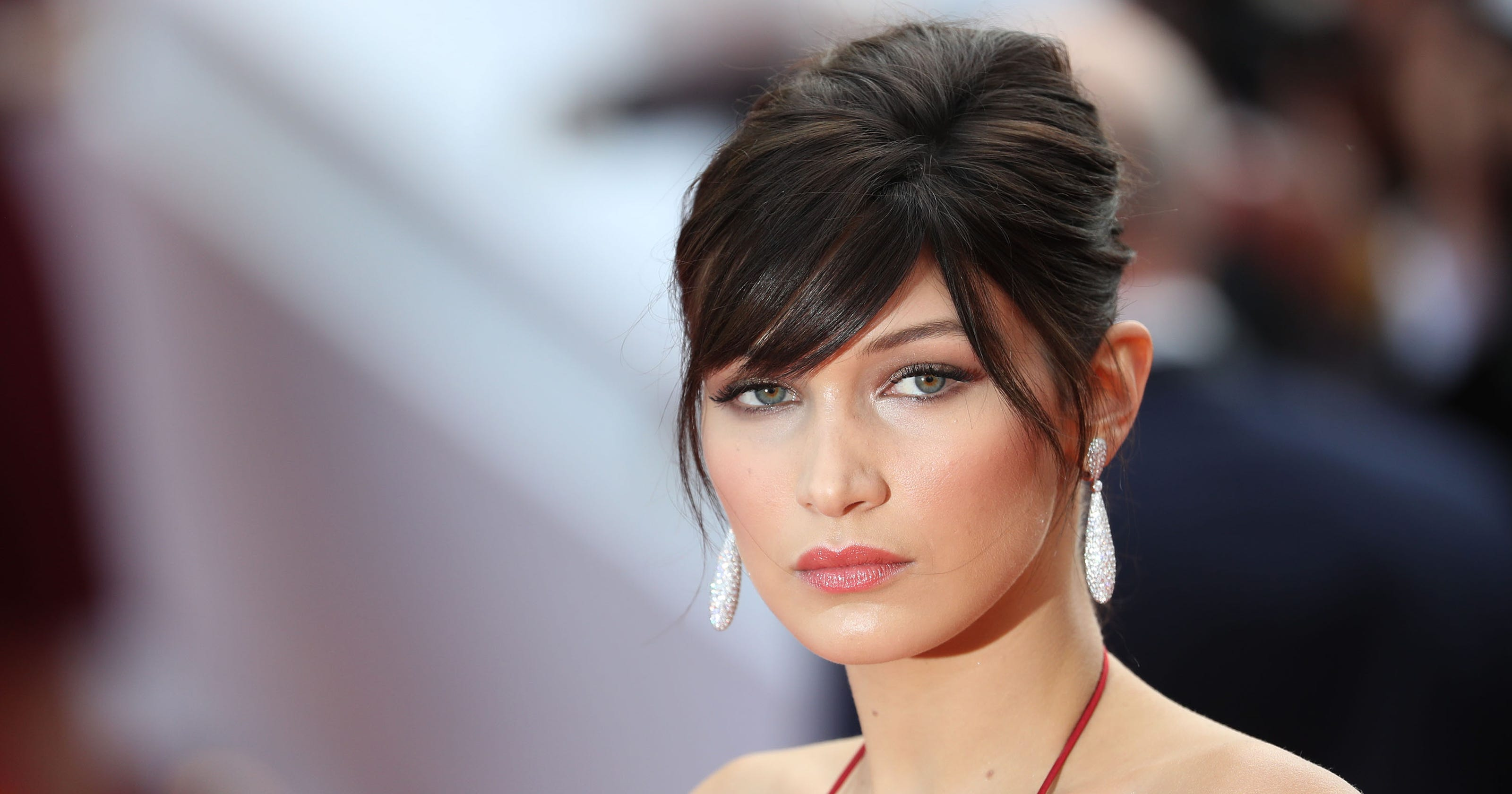 ae1e83567ead Here's what Bella Hadid looks like with pink hair