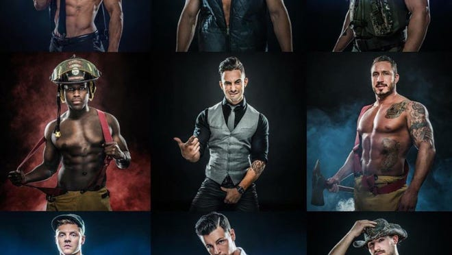 CONTRIBUTED PHOTO The Magic Men bring their crowd-pleasing all-male revue back to the Admiral Theatre Sept. 7 and 8.
