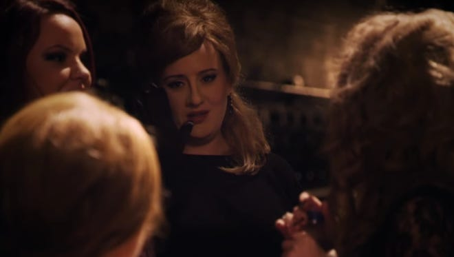 Adele goes undercover to surprise Adele impersonators.