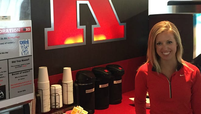 Rutgers director of performance nutrition Allison Kreimeier is helping athletes revamp their eating, drinking and sleep habits in the name of getting better results.