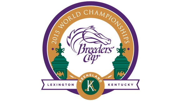 The logo for the 2015 Breeders' Cup at Keeneland Race Course.
