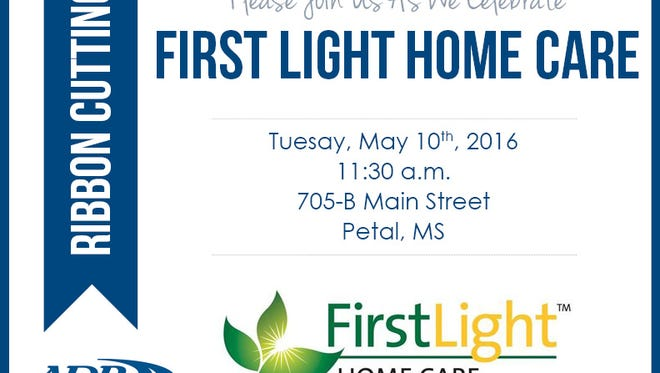 FirstLight HomeCare will hold a ribbon cutting May 10.