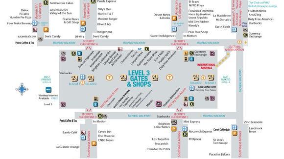 Sky Harbor adds more new restaurants on united states map, cleveland hopkins map, san francisco map, san jose map, santa monica map, sugarloaf map, apostle islands map, hollywood map, camelot map, port columbus map, big sky montana map, baltimore harbor map, sky harbour map, kitsap county map, oak creek map, gatlinburg map, ontario map, sky map tonight, salt lake city map, santa maria map,