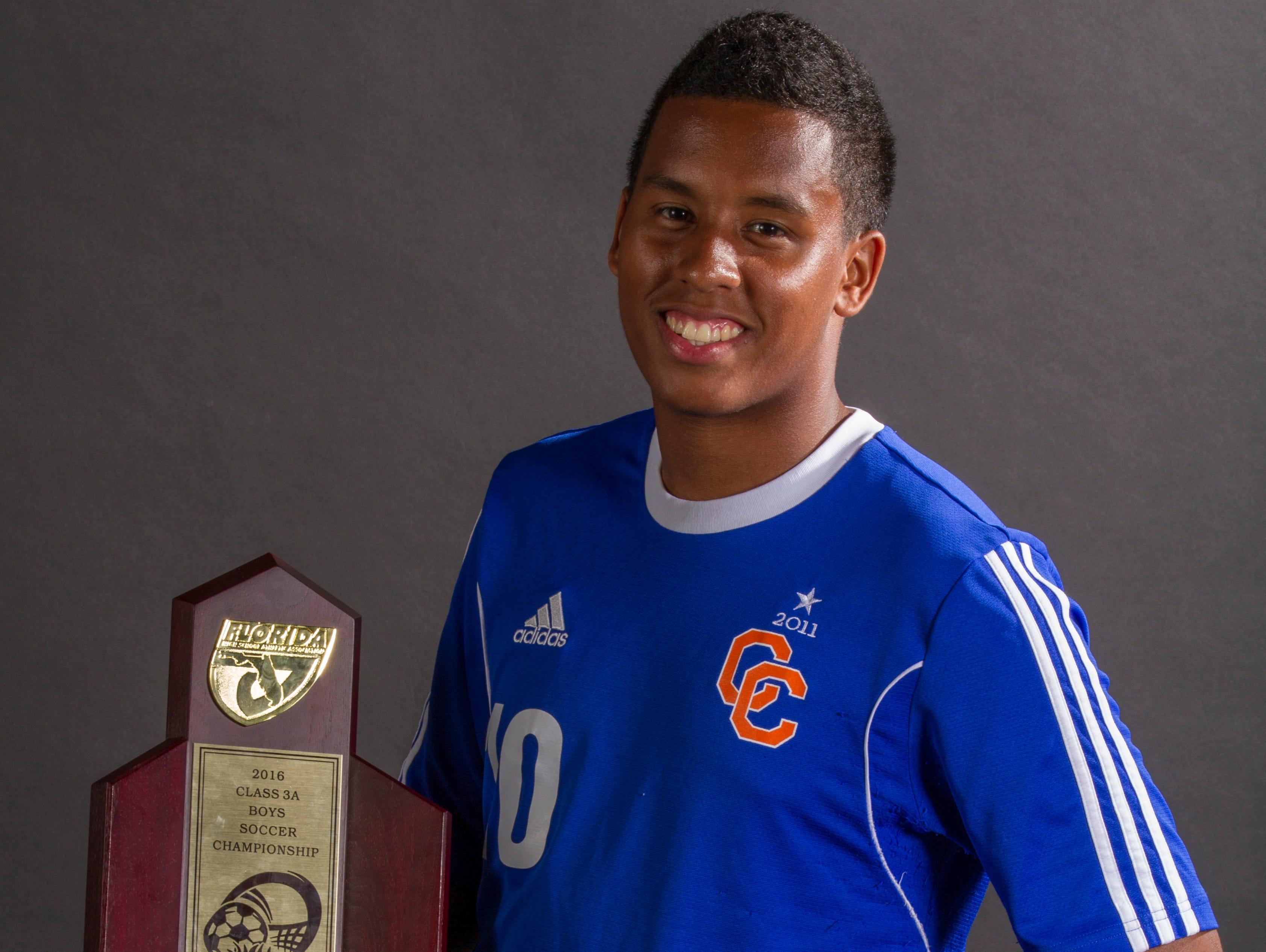 Camilo Avendano, 18, is a soccer player at Cape Coral High School.