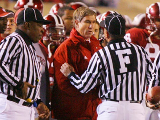 Bill Lynch took over as the Indiana University football coach in 2007 after the death of Terry Hoeppner. He led the team to a bowl game.