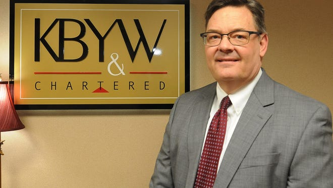 Local attorney Larry Michel has been named a 2020 Missouri & Kansas Super Lawyer for Employment Litigation and has worked at Kennedy Berkley Yarnevich & Williamson since 1993.