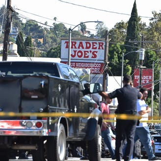 Los Angeles Trader Joe's standoff: Woman killed in shootout, injured suspect taken into custody