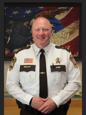 Morrison County Sheriff Shawn Larsen