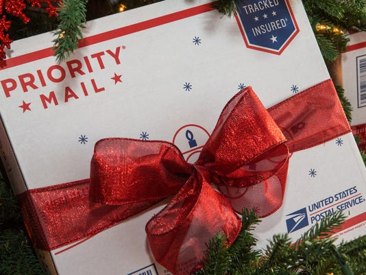 Holiday mail dates coming up