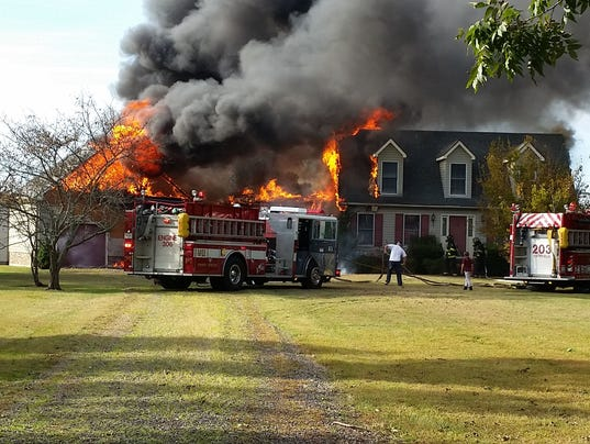 Marion Station fire