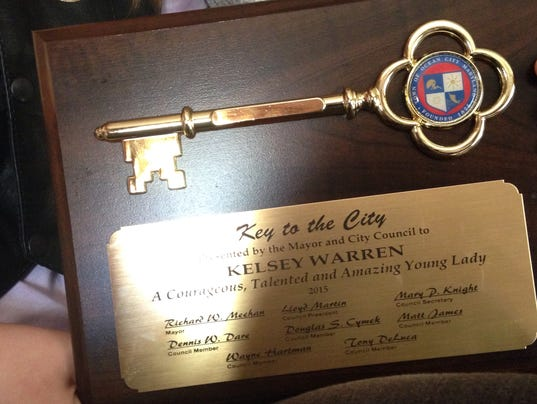 Key to the town of Ocean City