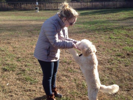 Cason Trailhead dog park