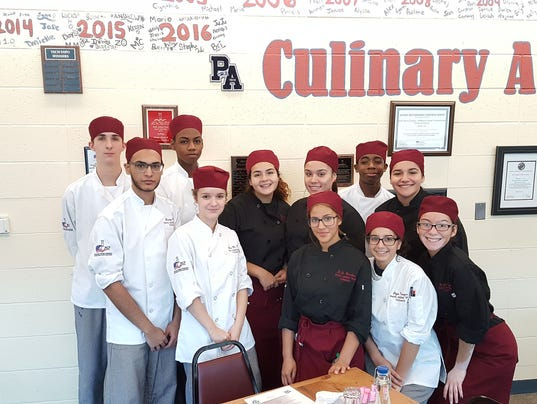 MCVTS Culinary students
