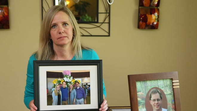 Joleen Tichelaar of Brookfield lost her husband Jay Tichelaar in May 2017 when a brake drum fell off a semi and crashed through his windshield killing him instantly on I-94 in Jefferson County. The semi has yet to be located. Joleen Tichelaar is critical of the Wisconsin State Patrol's handling of her husband's accident.