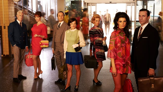 """The end of an era: """"Mad Men"""" completes its final season Sunday."""