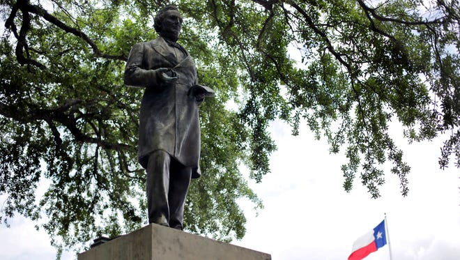University of Texas students are calling on the university to remove a statue of Jefferson Davis. They say the statue is a tribute to the president of the Confederacy.