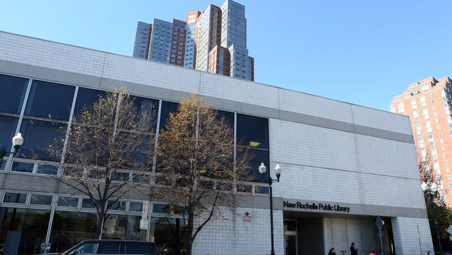 The New Rochelle Public Library.