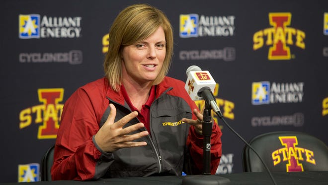 Iowa State volleyball coach Christy Johnson-Lynch will become president of the AVCA in January.