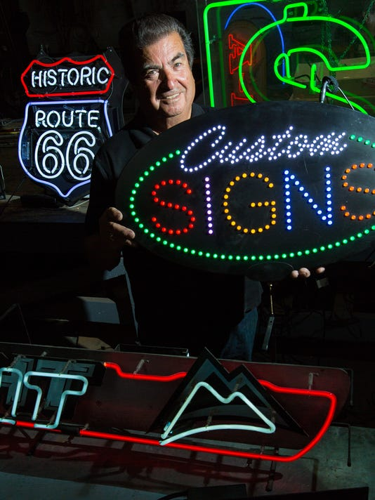 051616 - Fluorescent Signs 1