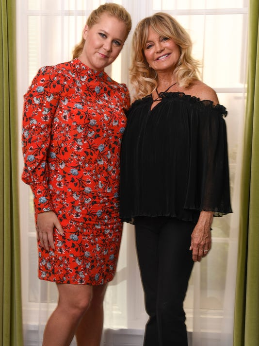 XXX AMY SCHUMER AND GOLDIE HAWN175.JPG A  ENT CA