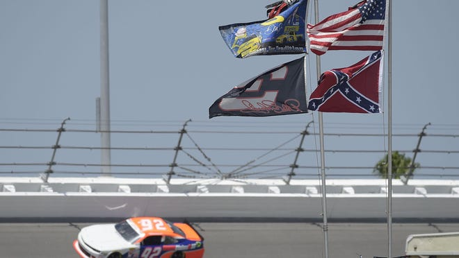 Ohio lawmakers rejected a proposal to ban the Confederate flag at county fairs hours after NASCAR announced it would no longer fly the flag.