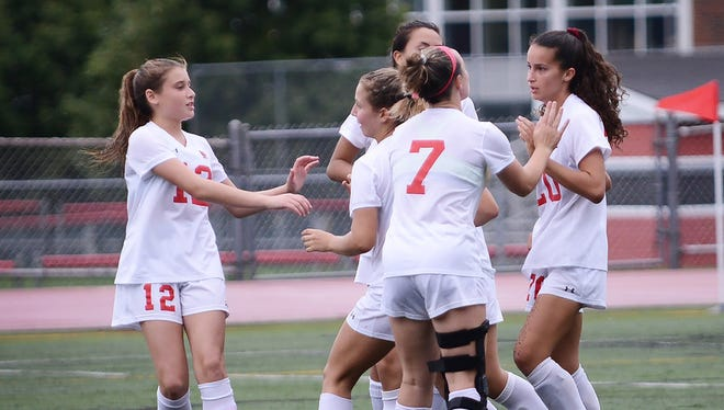 Northern Highlands won the Bergen County girls soccer title for the fourth-straight year.