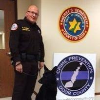 Officer Odinn joins Door County Sheriff's Office