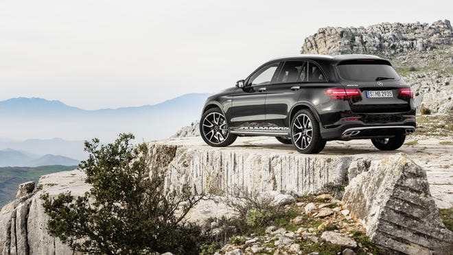 The 2017 Mercedes-AMG GLC43 is one of the SUVs debuting in New York.