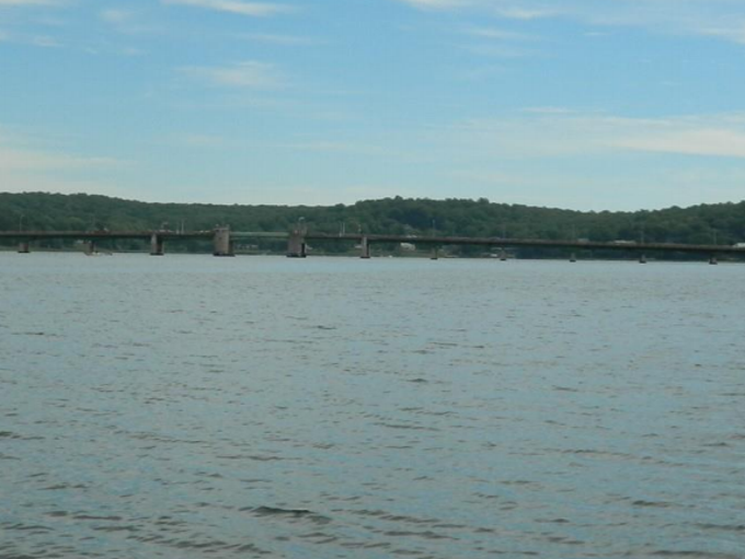 The Oceanic Bridge, as seen from a 1/2 mile west of