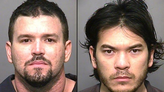 Shane A. Tebo (left) Brandon M. Vongthongthip.