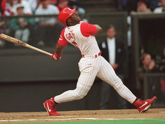 Former Reds outfielder Ron Gant hit 321 career home runs.