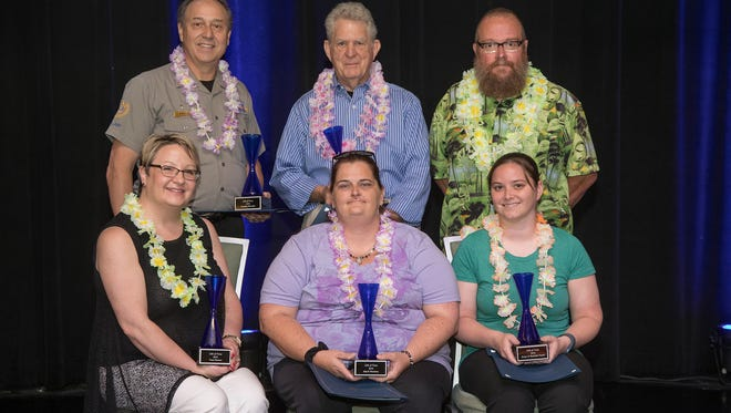 Volunteers of the Year were awarded at the annual Gift of Time Awards by the City of Springfield and Council of Churches of the Ozarks
