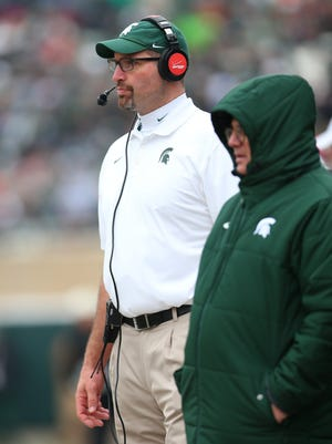 Michigan State offensive line coach Mark Staten gave up pursuit of an acting career to excel in his current field.