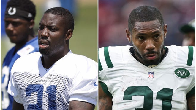 With Pro Bowler Vontae Davis week-to-week with an ankle injury, the Colts turned to former New York Jet Antonio Cromartie.