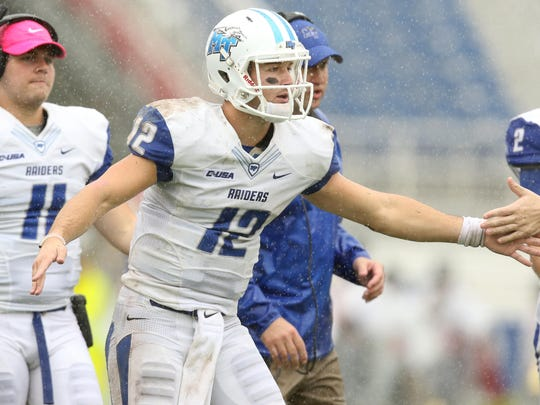 Brent Stockstill (12) enters his second season as one