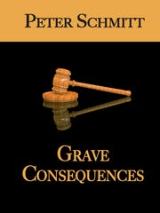 """""""Grave Consequences"""" book cover"""