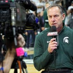 Spartans football head coach Mark Dantonio