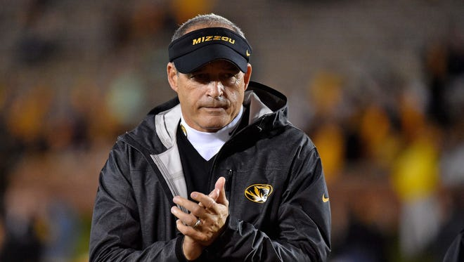 Missouri Tigers head coach Gary Pinkel.