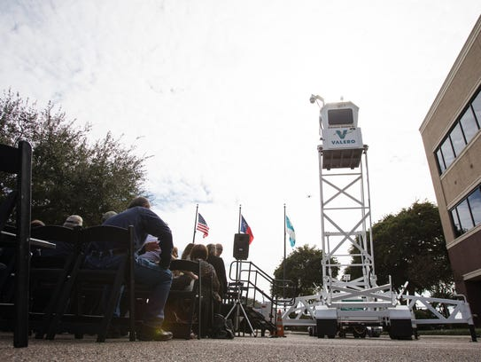 Corpus Christi Police's new a Skywatch during its unveiling