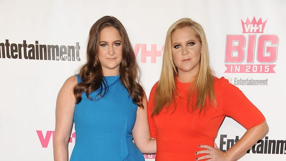 Amy Schumer's sister, Kimberly Schumer, left, also