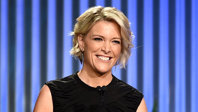 Megyn Kelly speaks onstage during The Hollywood Reporter's Annual Women in Entertainment Breakfast.