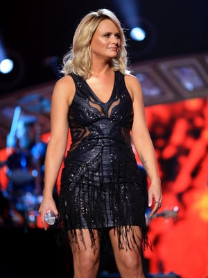 Miranda Lambert performs onstage during the 2014 American Country Countdown Awards at Music City Center on Dec.  15, 2014, in Nashville.