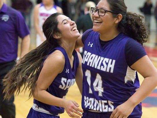 Spanish Springs beat Reno, 52-50, Friday night.