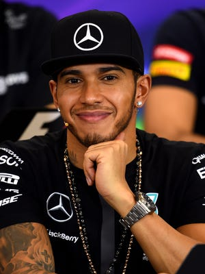 Lewis Hamilton clinched his third Formula One championship at the United States Grand Prix on Oct. 25.